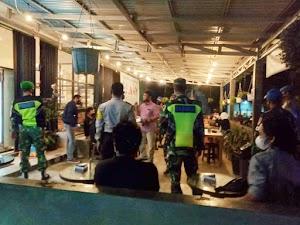 Sejumlah Cafe di Barabai Jadi Sasaran Operasi Yustisi TNI-Polri