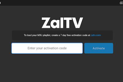 Kode ZalTV Saluran TV Seluruh Dunia