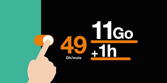 orange forfait 49dh