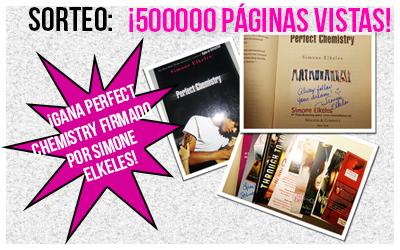 Sorteo: 500000 páginas vistas