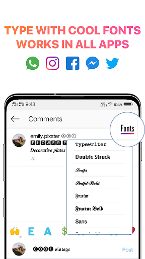 Fonts for Instagram - Cool Text, Fancy Font Styles image | 3