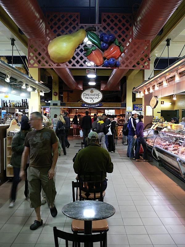 Atwater Market vanbinnen