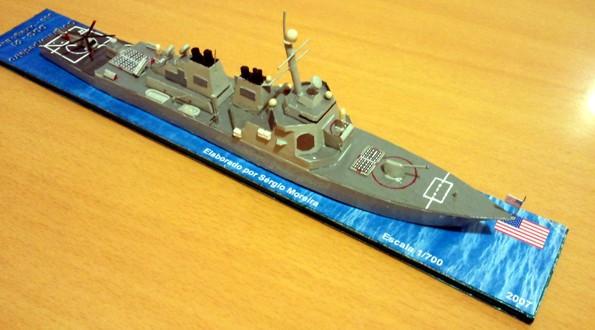 Contratorpedeiro - USS Arleigh Burke (DDG-51)