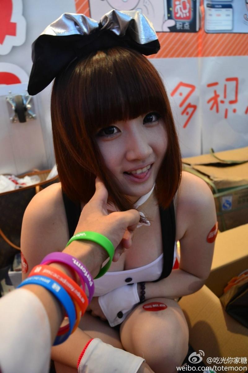 Sờ tận tay các showgirl tại ChinaJoy 2013 - Ảnh 25