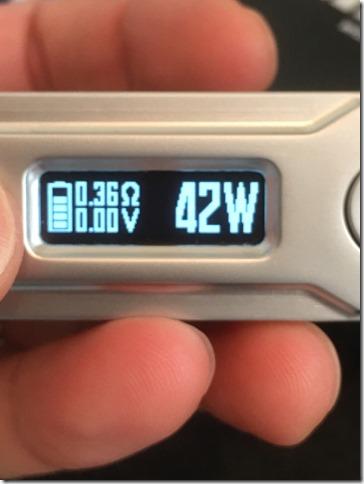 IMG 9059 thumb1 - 【爆速スタックMOD】VOOPOO DRAG with Gene chip(ブープー ドラッグ ウィズ ジェネ チップ)MOD【レビュー】~今まで使ったスタックのMODで一番すごいんじゃないかな~編~