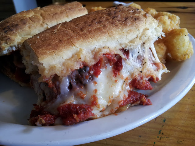 Best Meatball Sub, EVER. Empire Village Inn