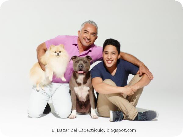 César y su hijo Andre en la nueva serie Días de Perro con César Millán -....jpeg