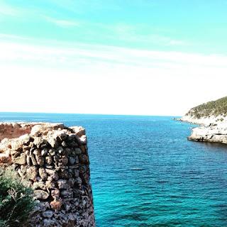 Meer Mallorca Felsen