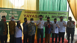 Grands Opening WarNU Digital, Menghadirkan Wakil Walikota Jakarta Utara