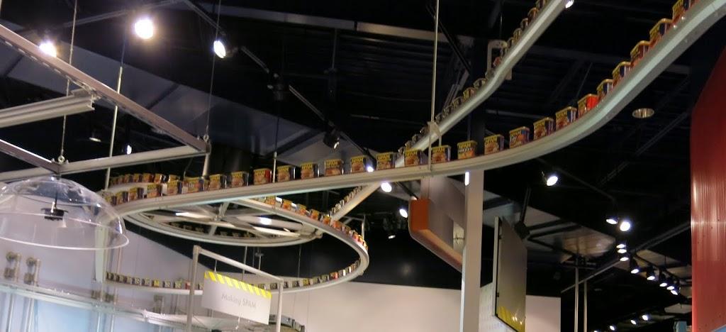 Overhead Conveyor of Spam