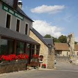 """Le restaurant Boucharenc-Tichit (""""Hôtel del Faou""""). Fau-de-Peyre (Lozère), 21 août 2009. Photo : J.-M. Gayman"""