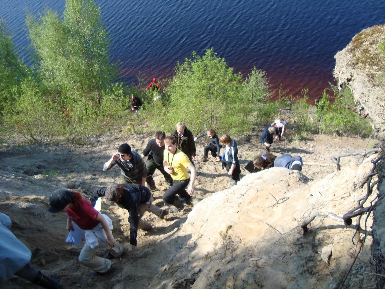 Maaperägeologian kenttäkurssi kevät -09 - DSC02206.JPG