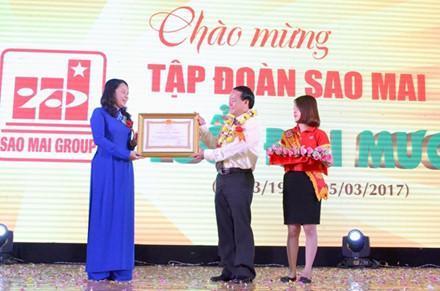 Tập đoàn Sao Mai - An Giang: Long trọng kỷ niệm 20 năm ngày thành lập ảnh 9