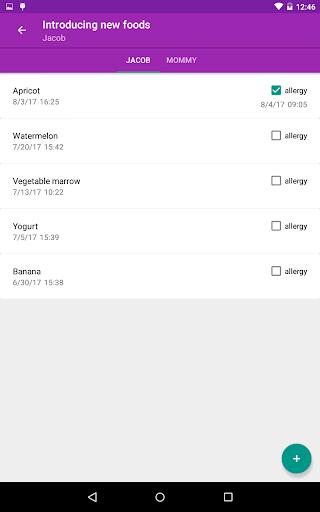 BabyAppy: breastfeeding, sleep and diapers tracker 1.37 Screenshots 11