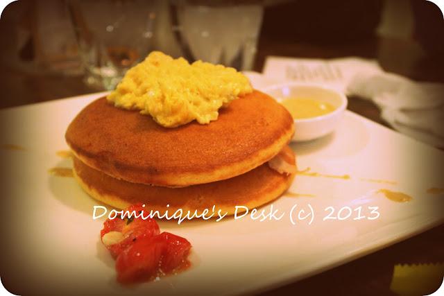 Ham and Egg Pancakes