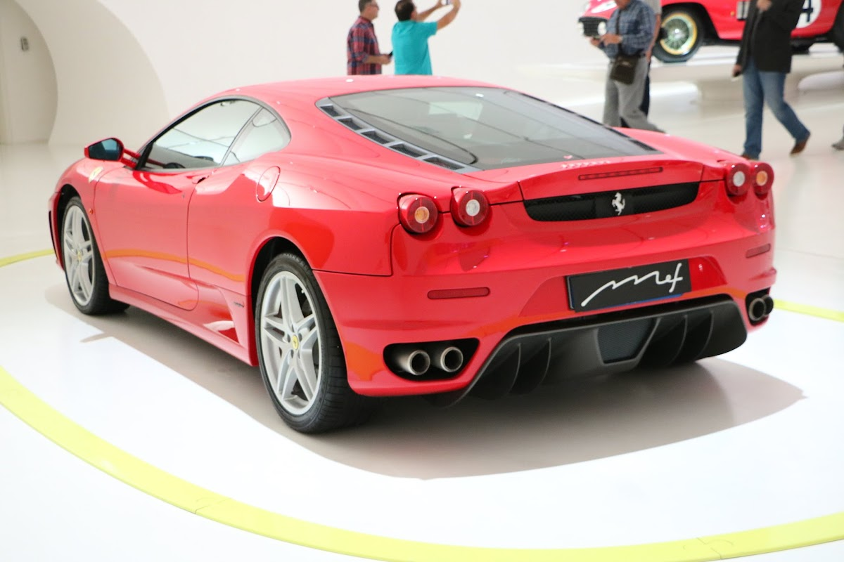 Modena - Enzo Museum 0098 - 2004 Ferrari F430 (Cars).jpg