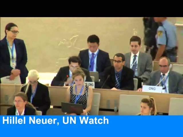 Tension: UN Elects Countries That Commit Genocide Against Christians To Chair Human Rights Council
