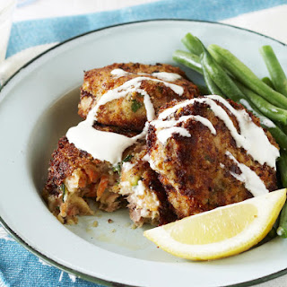 Tuna and Zucchini Fish Cakes