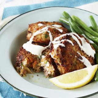Tuna and Zucchini Fish Cakes.