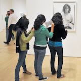 San Francisco Museum of Modern Art. At Exhibition of Richard Avedon. 2009