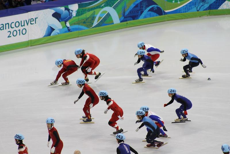 Vancouver 2010: Short track speed skating • Douglas Stebila