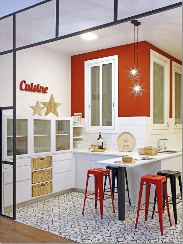 Christmas chic e festoso case e interni for Interni parigini