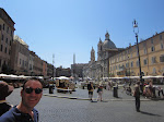 Piazza Navona in the daytime