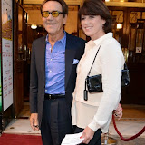 WWW.ENTSIMAGES.COM -   Robert Lindsay   and    Rosemarie Ford  arriving at          FORBIDDEN BROADWAY - Press Night at Vaudeville Theatre London September 15th 2014Phillip George directs return of Gerard Akessandrini's comedy revue which, when it was first performed in New York, poked fun at a range of Broadway stars including Whoopi Goldberg and Elaine Paige.                                             Photo Mobis Photos/OIC 0203 174 1069