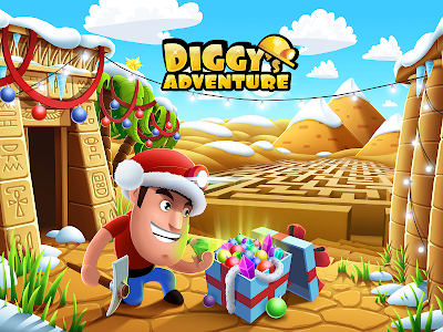 Diggy's Adventure: Escape this 2D Mine Maze Puzzle 1.3.216