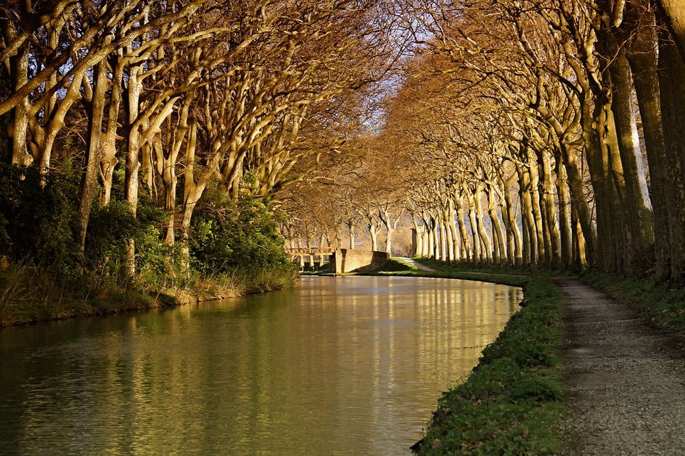 Canal du midi france amusing planet for Architecte canal du midi