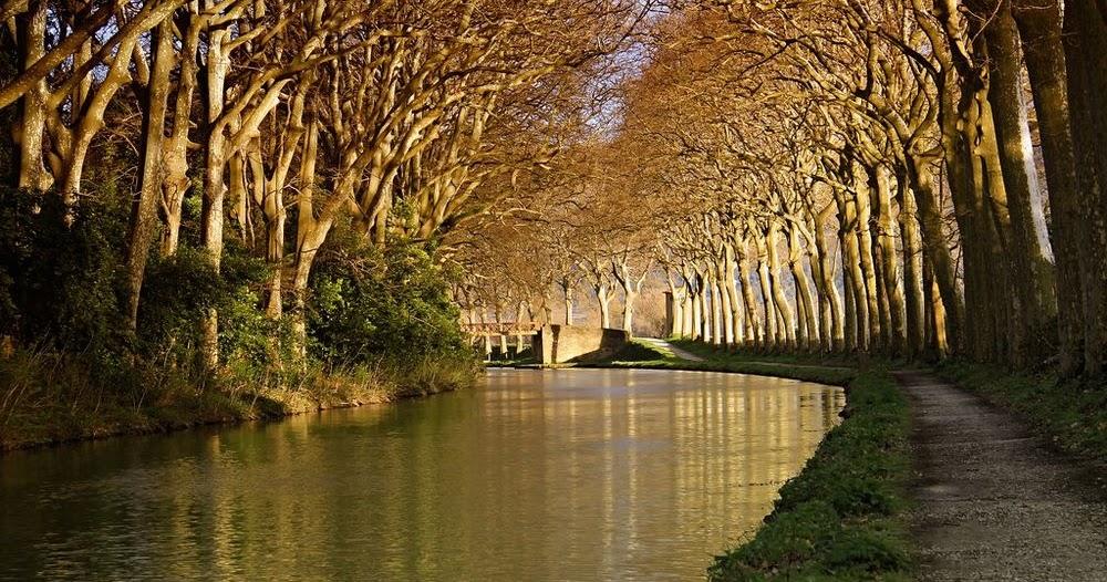 Canal du Midi, France; Kaushik; Amusing Planet