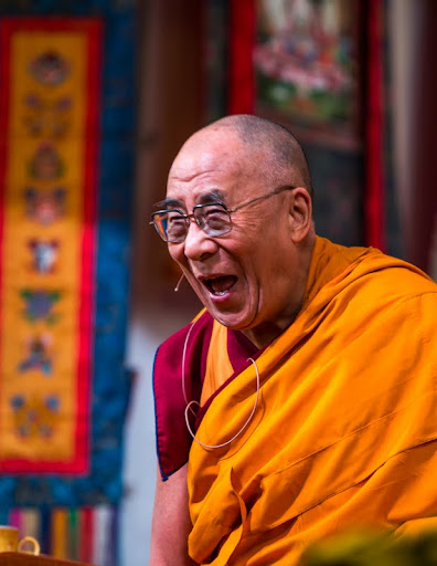 His Holiness the Dalai Lama, Kurukulla Center, Medford, Massachusetts, U.S., October 2012. Photo by Kadri Kurgun.
