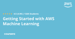 free Coursera course to learn AWS Machine Learning