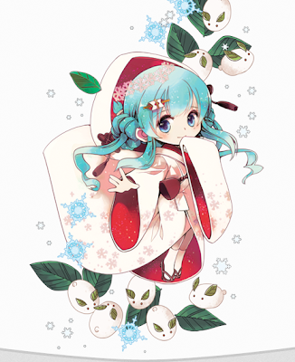 Snow Miku 2013 Official Image