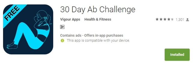 apps 30 day AB challenge