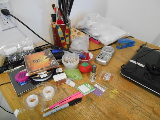 Beading Workspace: Before
