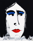 057 - Marianne Ambigüe - 1994 100 x 73 - Acrylique sur toile