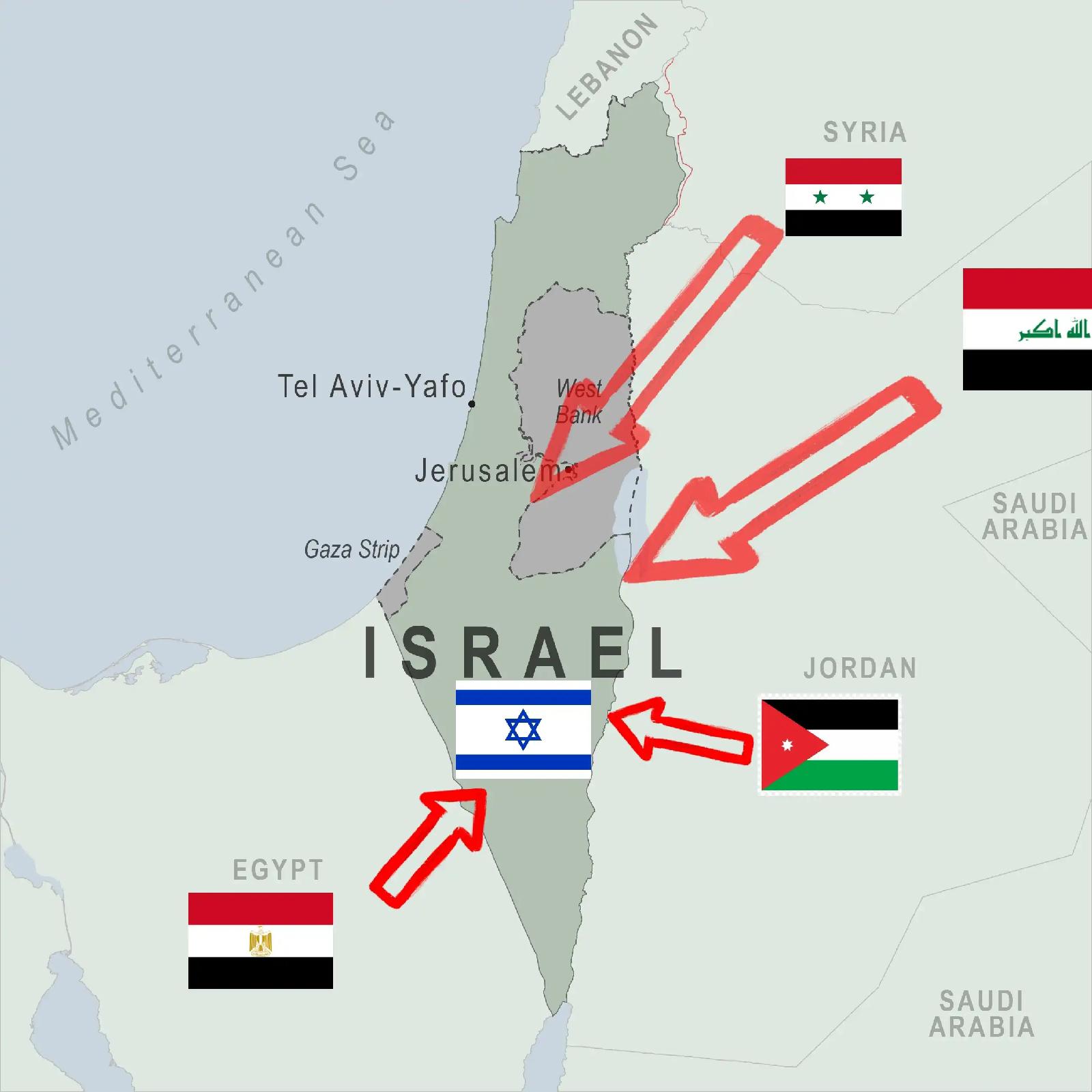israel 6 day war