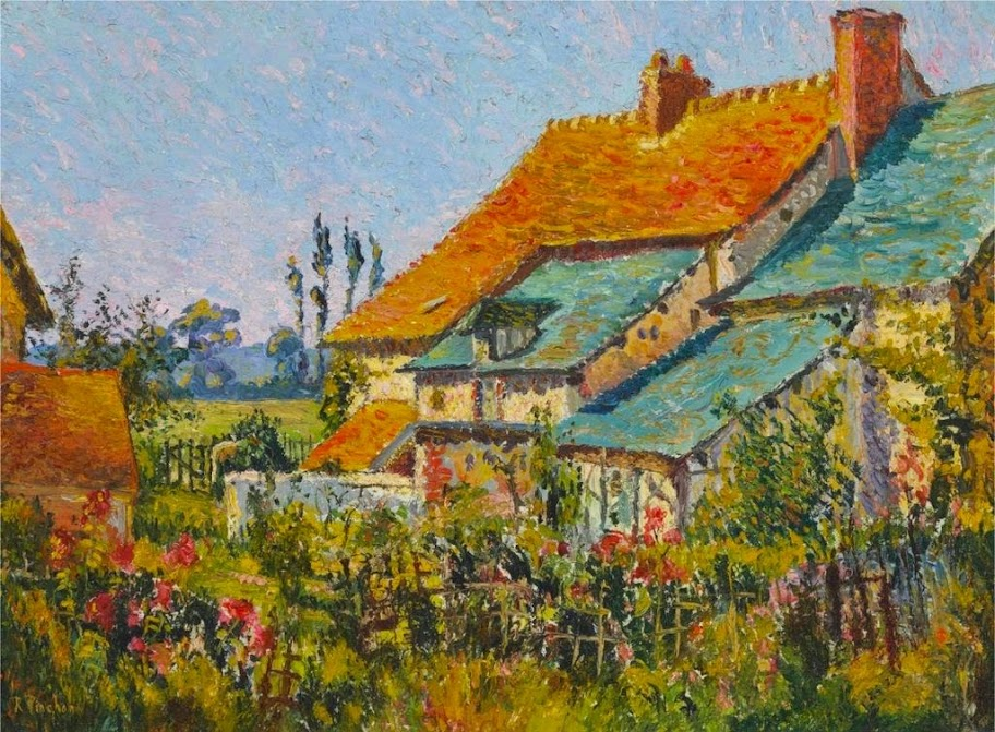 Robert Antoine Pinchon - The Red Roofs