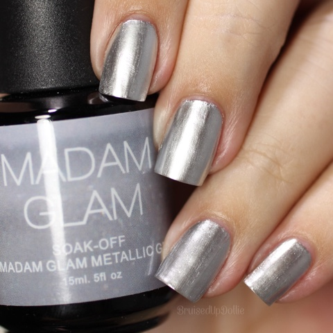Madam Glam Metallic Silver