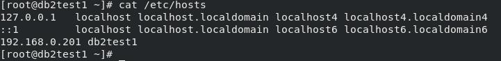 RHEL 8.2 edit /etc/hosts file
