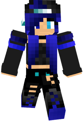 Blue tomboy