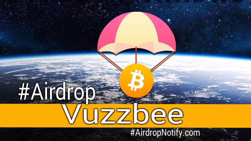Vuzzbee cryptocurrency Airdrop | Referral Program Vuzzbee