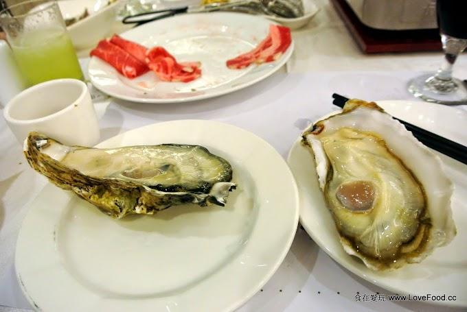 台北【三德大飯店-向陽庭餐廳】超大顆生蠔吃到飽