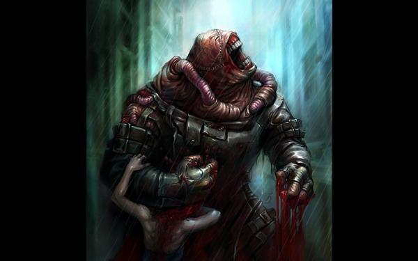 Resident Evil 3 Nemesis By Maruhana Bachi, Demons 2
