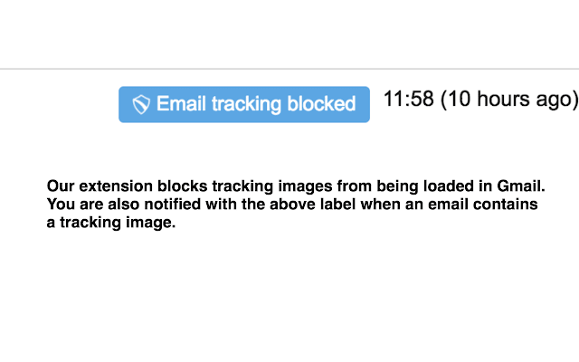 Email Tracking Preventer