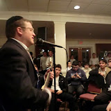 Mesivta Shabbaton in Southbury, CT, Kumzitz with Rabbi Baruch Levine