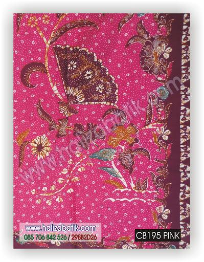 Beli Batik Online, Design Baju Batik, Desain Batik Modern, CB195 PINK