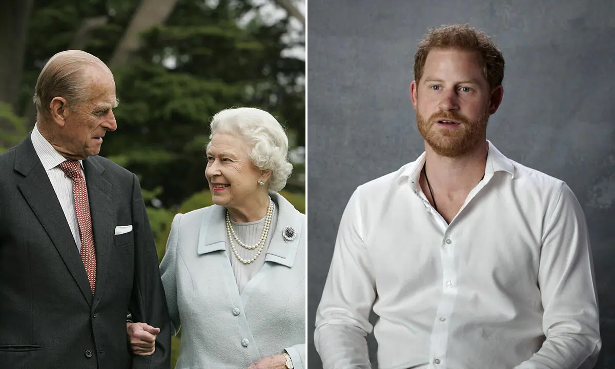 Prince Harry describes the Queen and Prince Philip as the 'Most Adorable Couple'