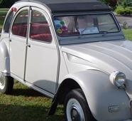 Citroën 1967 2 CV AZAM Export clignotants